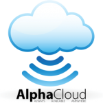 alpha cloud logo